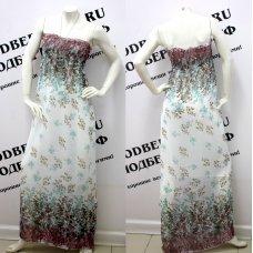 Длинное платье - трансформер (платье-юбка)