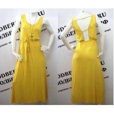 """Легкое длинное платье """"Sunflower"""""""