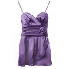 Фиолетовый топ с розой DS
