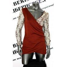 Восхитительное платье с кружевом