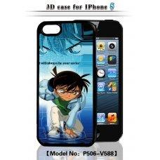 "3D накладка ""Anime Boy"" для Apple iPhone 5 / 5S"