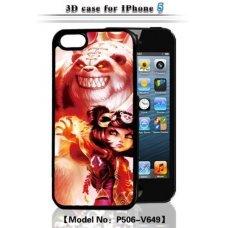 "3D накладка ""Anime"" для Apple iPhone 5 / 5S"