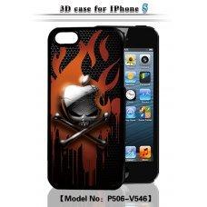 "3D накладка ""Apple"" для Apple iPhone 5 / 5S"