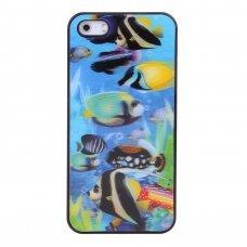 """3D накладка """"Aquarium"""""""" для Apple iPhone 5 / 5S"""