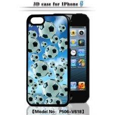 "3D накладка ""Balls"" для Apple iPhone 5 / 5S"
