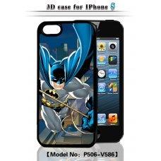 "3D накладка ""Batman"" для Apple iPhone 5 / 5S"