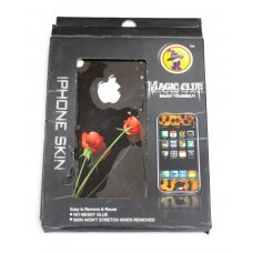 Виниловая наклейка Цветы для Apple iPhone 4 / 4S (2 стороны)