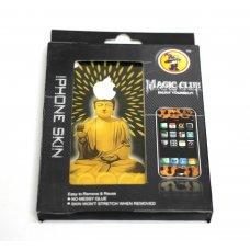Виниловая наклейка Будда для Apple iPhone 4 / 4S (2 стороны)